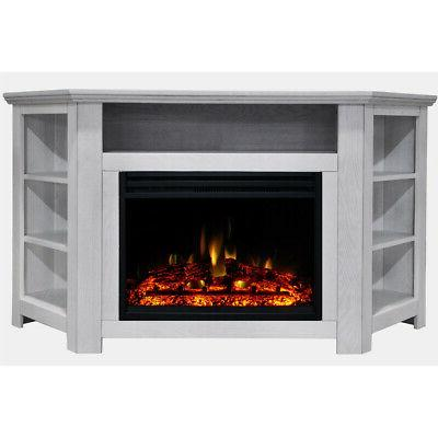 stratford electric fireplace heater with 56 in
