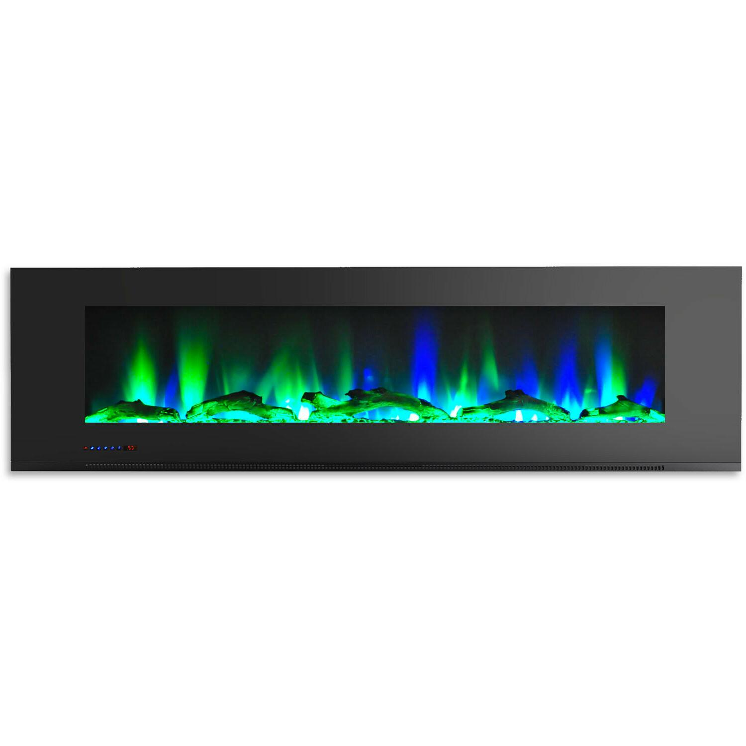 Cambridge Wall Mount Electric Fireplace Display 72-in *NEW*