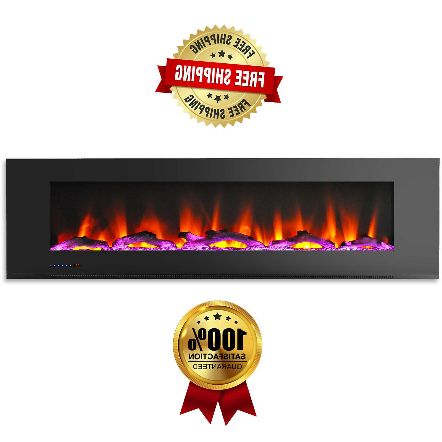 wall mount white electric fireplace driftwood log