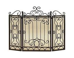 Metal Fire Screen For Complete Safety At Fire Place