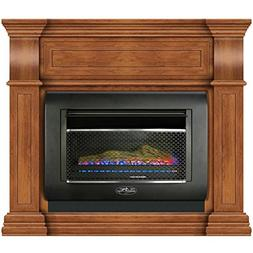 Duluth Forge Mini Hearth Ventless Gas Wall Fireplace - 26,00
