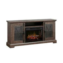 Dimplex Natalie Media Console Electric Fireplace With Logs