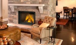 Napoleon NZ5000 - Country 5000 - Wood Fireplace - Required B