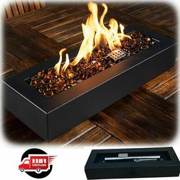 Outdoor Tabletop Gas Fire Pit Patio Table Top Fireplace Prop