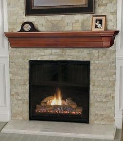 Pearl Mantel Lindon mission fireplace mantel or TV shelf. Pi