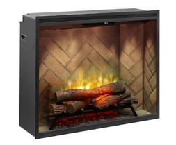 """Dimplex Revillusion 42"""" Electric Built-in Firebox Fireplace"""