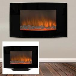 Smokeless Electric Fireplace Heater Remote Control Home Acce